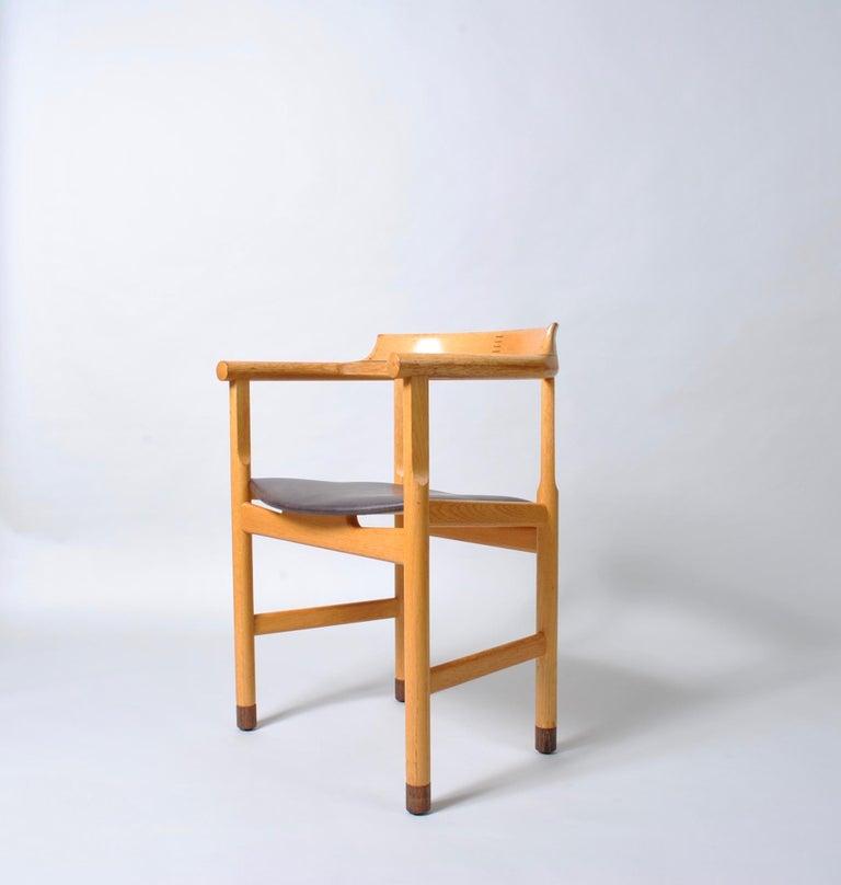 Danish Desk Chair, Hans J Wegner For Sale 2
