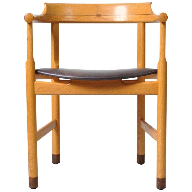 Danish Desk Chair, Hans J Wegner For Sale