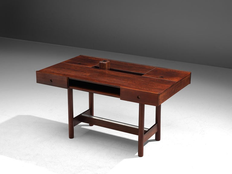 Scandinavian Modern Danish Desk in Rosewood