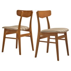 Danish Dining Chairs in Teak