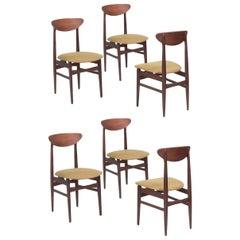 Danish Dining Chairs, set of 6