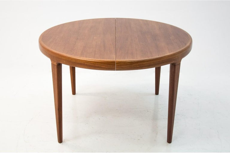 Danish Dining Table and Chairs Set, 1960s, Set of 5 4