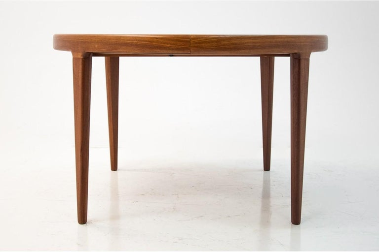 Danish Dining Table and Chairs Set, 1960s, Set of 5 5