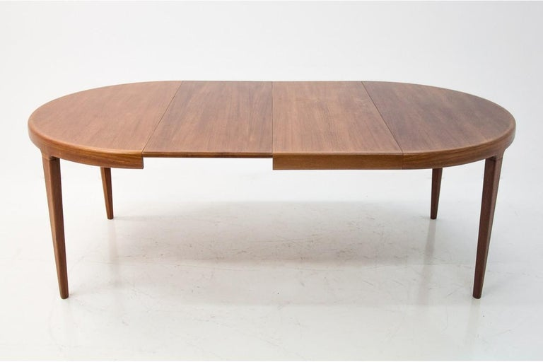 Danish Dining Table and Chairs Set, 1960s, Set of 5 8