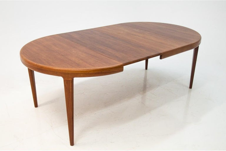 Danish Dining Table and Chairs Set, 1960s, Set of 5 9