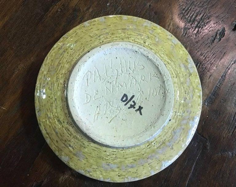 Ceramic Danish Dish by Per & Annelise Linnemann-Schmidt for Palshus, 1960s For Sale