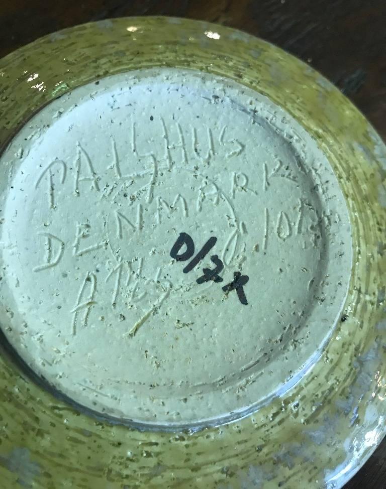 Danish Dish by Per & Annelise Linnemann-Schmidt for Palshus, 1960s For Sale 1