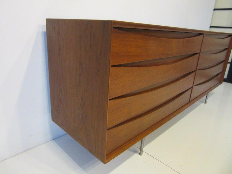 Danish Dresser by Arne Vodder for Sibast In Good Condition For Sale In Cincinnati, OH