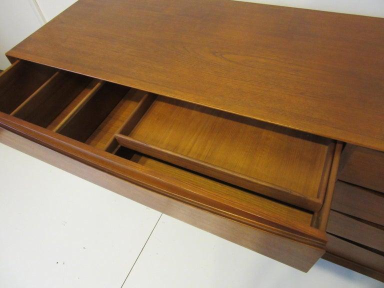 Teak Danish Dresser by Arne Vodder for Sibast For Sale