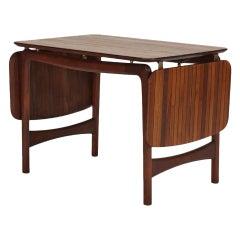 Danish Drop-Leaf Coffee Table in Teak by Hvidt Mølgaard-Nielsen, 1950s