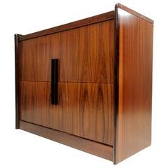 Danish Dyrlund Rosewood Filing Office Cabinet