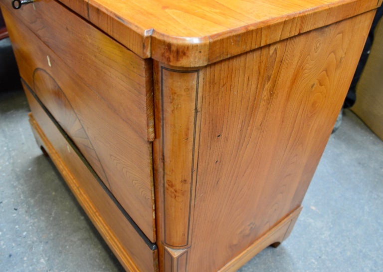 Danish Early 19th Century Biedermeier Pine Dresser 5
