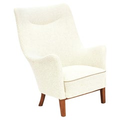 Danish Easy Chair, 1940-1950