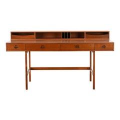 Danish Flip-Top Desk by Jens Quistgaard for Peter Lovig Nielsen in Teak, 1969