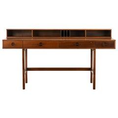 Danish Flip-Top Desk by Jens Quistgaard for Peter Lovig Nielsen in Walnut, 1969