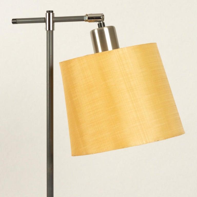 Metal Danish Floor Lamp by Jo Hammerborg for Fog & Mørup, 1960s For Sale