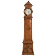 "Danish Grandfather Clock, Signed ""W. F. Fog"", 19th Century"
