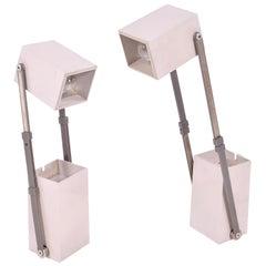 Danish Grey LamPetit Table Lamp by Verner Panton for Louis Poulsen, 1950s