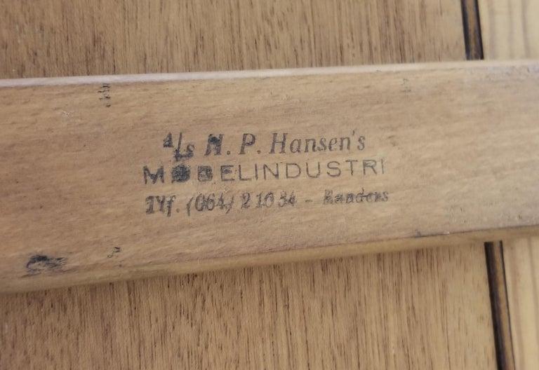 Danish H. P. Hansen Rosewood Desk For Sale 14