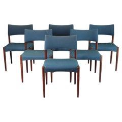 Danish Hardwood Dining Chair by Ejner Larsen & Aksel Bender-Madsen