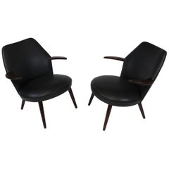 Danish Horn Lounge Chairs