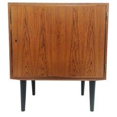 Danish Hundevad Rosewood Cabinet 1960s-1970s Midcentury Vintage