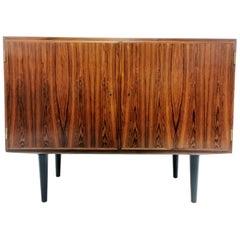 Danish Hundevad Rosewood Media Unit Sideboard 1970s Midcentury Vintage Cabinet