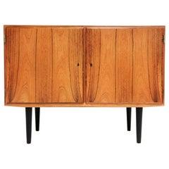 Danish Hundevad Rosewood Sideboard 1970s Midcentury Vintage Cabinet