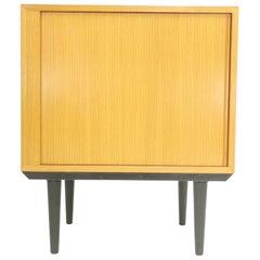 Danish Hundevad Tambour Cabinet Mid Century Vintage Unit