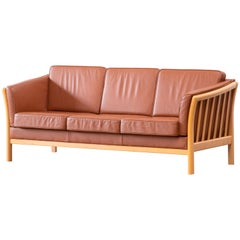 Danish Leather Sofa from the 70's