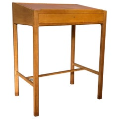 Danish Oak Lectern Standing Writing Desk