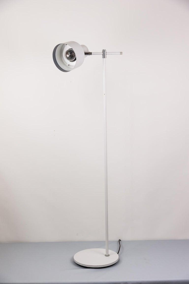 Danish Lento Floor Lamp Jo Hammerborg for Fog & Mørup, 1960s For Sale 3
