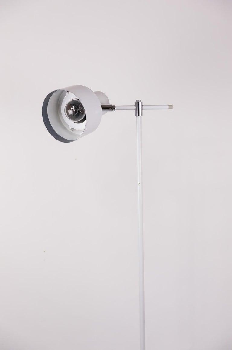 Danish Lento Floor Lamp Jo Hammerborg for Fog & Mørup, 1960s For Sale 4