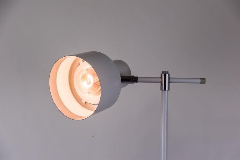 Danish Lento Floor Lamp Jo Hammerborg for Fog & Mørup, 1960s For Sale 6