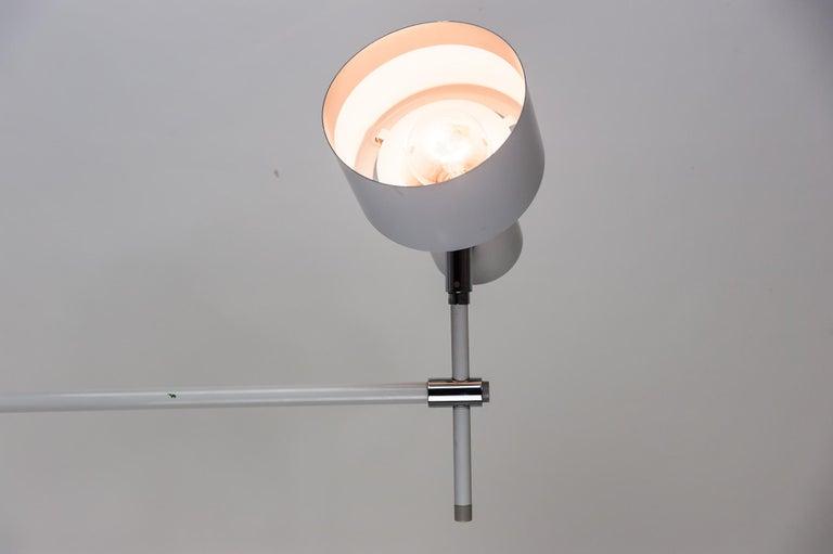 Danish Lento Floor Lamp Jo Hammerborg for Fog & Mørup, 1960s For Sale 7