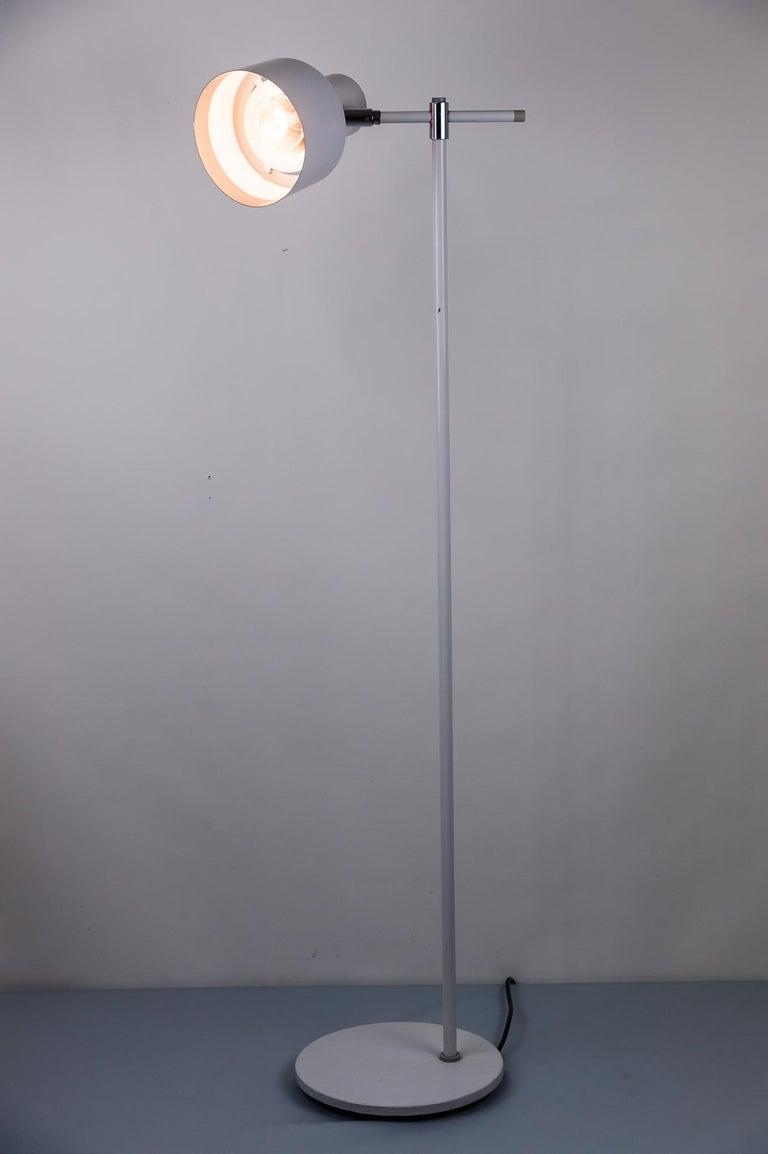 Danish Lento Floor Lamp Jo Hammerborg for Fog & Mørup, 1960s For Sale 8