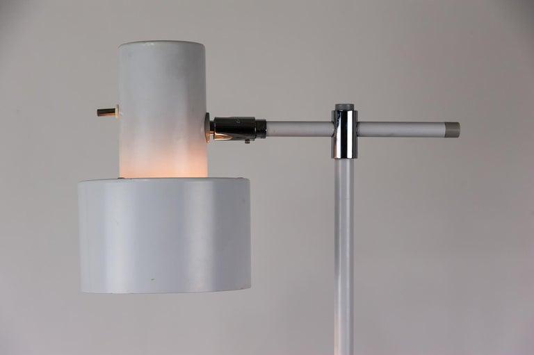 Danish Lento Floor Lamp Jo Hammerborg for Fog & Mørup, 1960s For Sale 9