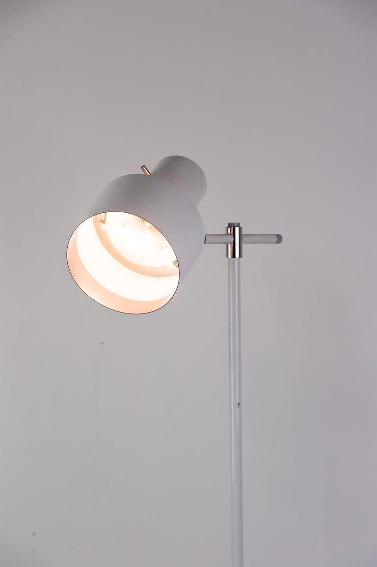 Danish Lento Floor Lamp Jo Hammerborg for Fog & Mørup, 1960s For Sale 10