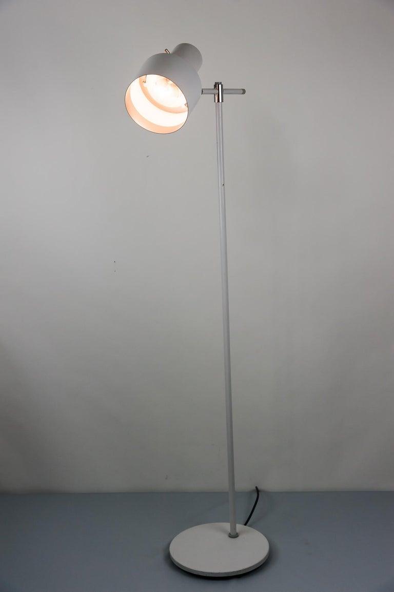 Danish Lento Floor Lamp Jo Hammerborg for Fog & Mørup, 1960s For Sale 11