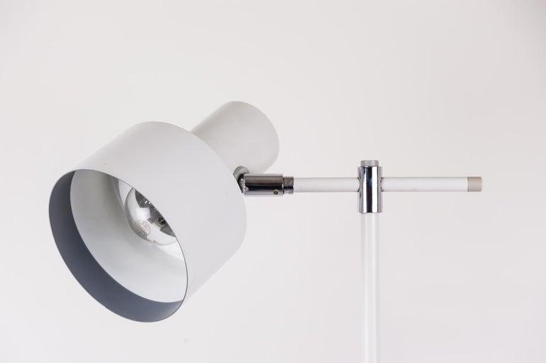 Danish Lento Floor Lamp Jo Hammerborg for Fog & Mørup, 1960s For Sale 2