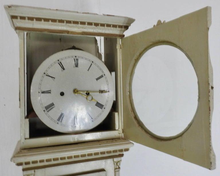 Danish Long Case Clock For Sale 2