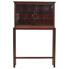 Danish Louis XVI Display Cabinet on Stand
