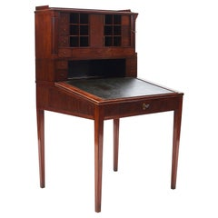 Danish Louis XVI Writing Bureau, Mahogany, circa 1780