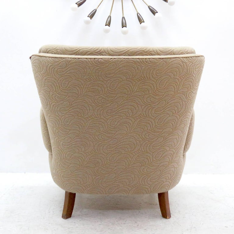 Danish Lounge Chair, 1940s For Sale 4