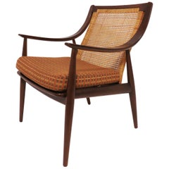 Danish Lounge Chair by Hvidt & Mølgaard-Nielsen for France & Daverkosen