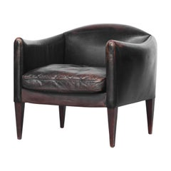 Danish Lounge Chair by Illum Wikkelsø for Holger Christiansen, Denmark, 1960s