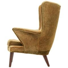 Danish Lounge Chair in Original Upholstery