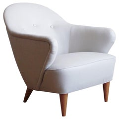 Danish Lounge Chair in the Manner of Flemming Lassen