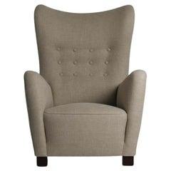 Danish Lounge Chair Model 1672 by Fritz Hansen