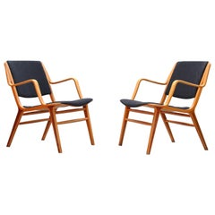 Danish Lounge Chairs by Peter Hvidt & Orla Mølgaard for Fritz Hansen, 1960s